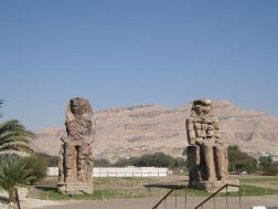statues of Pharaoh Amenhotep III
